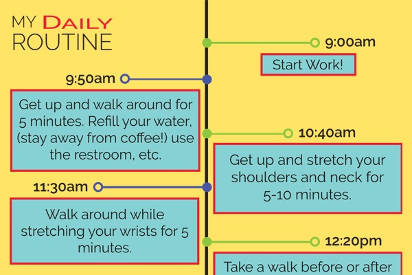 The Schedule That Can Save The Office Worker's Life