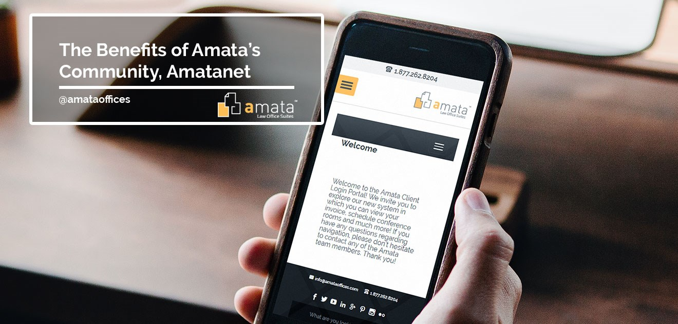 The Benefits of Amata's Community, Amatanet