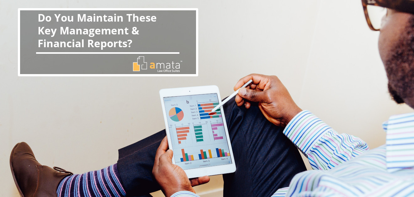 Do You Maintain These Key Management & Financial Reports?