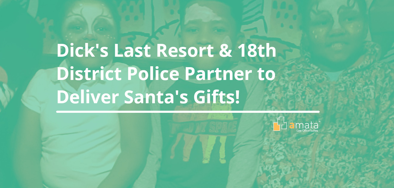 Dick's Last Resort & 18th District Police Partner to Deliver Santa's Gifts!