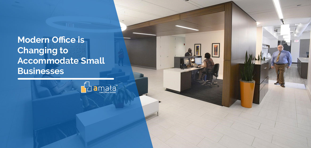 The Modern Office is Changing to Accommodate Small Businesses